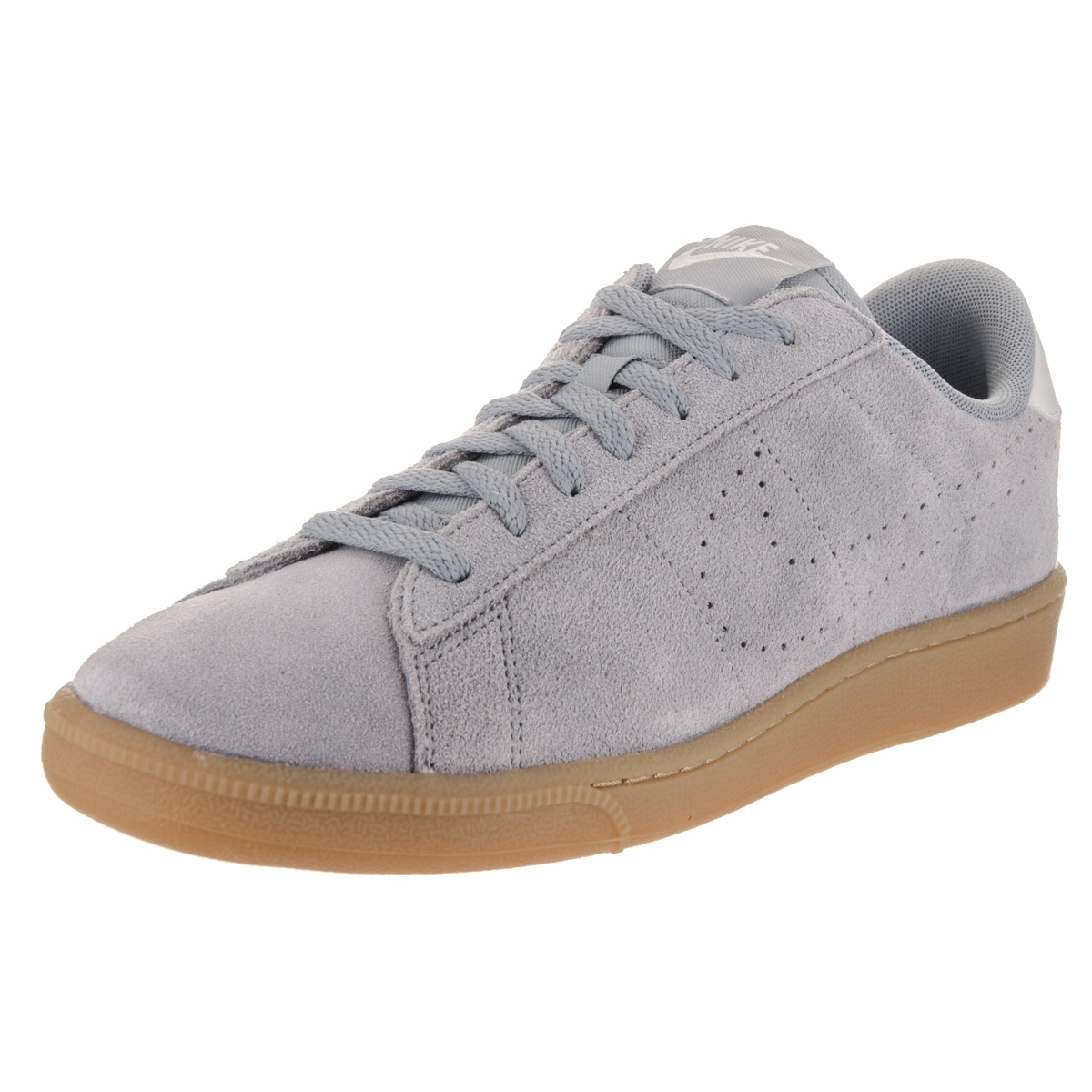Nike Men's Tennis Classic CS Suede Tennis Shoes (9), Grey