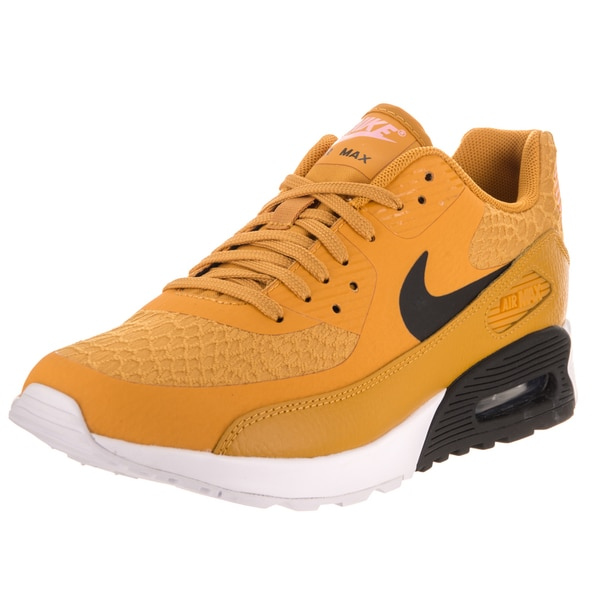 Shop Nike Women's Air Max 90 Ultra 2.0 Yellow Running Shoes