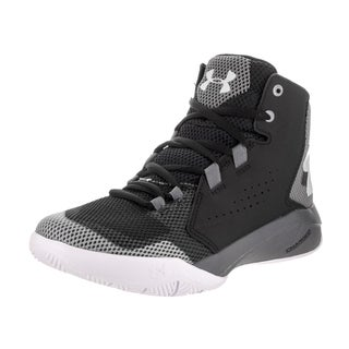 Under Armour Boys' BGS Torch Fade Black Synthetic Leather Basketball Shoe