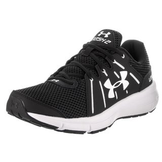 Under Armour Women's Dash Rn 2 Black Synthetic Leather Running Shoe