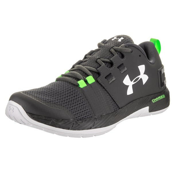 new product 2091c 80023 Shop Under Armour Men's Commit Tr Grey Synthetic Leather ...