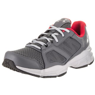 Under Armour Men's Zone 2 Grey Synthetic Leather Training Shoe