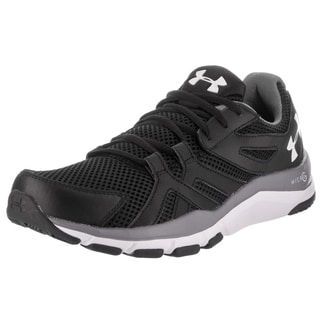 Under Armour Men's Strive 6 Black Synthetic Leather Training Shoes