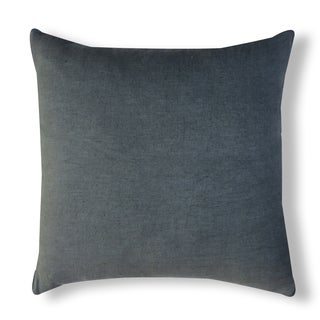 A1HC Organzza Solid 100-percent Linen 20-inch Handcrafted Throw Pillow