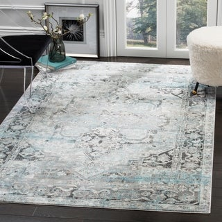 Safavieh Claremont Ivory / Grey Area Rug (6' x 9'2)