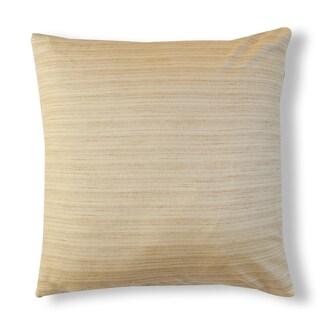 A1HC Organzza 100% Silk Solid Throw Pillow