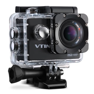 Waterproof Sports Camera, Action Camera with 12MP Image and Full HD(1080p at 30fps) Video for Outdoor Sports