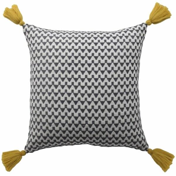 Blissliving Home Tanzania Harper Winnie Cotton Woven Decorative Pillow