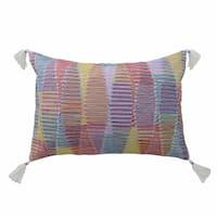 Blissliving Home Tanzania Malika Cotton Decorative Pillow