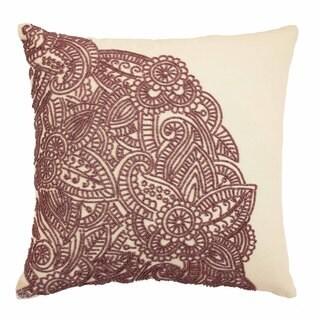 Blissliving Home Kenza Beaded Decorative Pillow