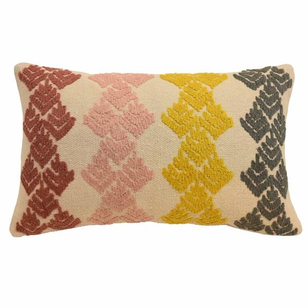 Shop Blissliving Home Dina Embellished Decorative Pillow Free Enchanting Embellished Decorative Pillows