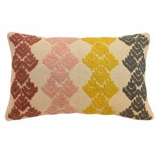 Blissliving Home Dina Embellished Decorative Pillow
