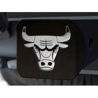 """NBA - Chicago Bulls Black Hitch Cover 4 1/2""""x3 3/8"""""""