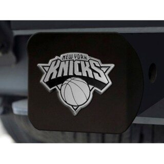 "NBA - New York Knicks Black Hitch Cover 4 1/2""x3 3/8"""