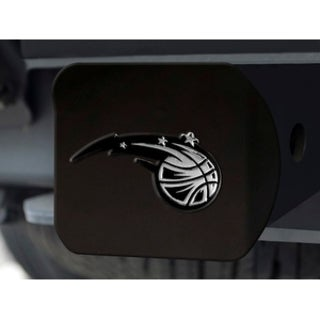 Fanmats NBA Orlando Magic Black Chrome Metal Hitch Cover