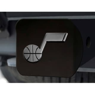 NBA Utah Jazz Black Chrome Hitch Cover