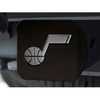 "NBA - Utah Jazz Black Hitch Cover 4 1/2""x3 3/8"""