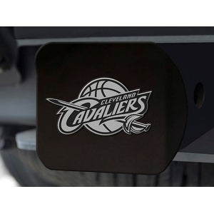 "NBA - Cleveland Cavaliers Black Hitch Cover 4 1/2""x3 3/8"""