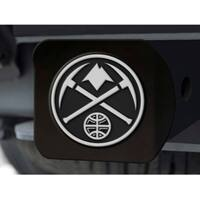 "NBA - Denver Nuggets Black Hitch Cover 4 1/2""x3 3/8"""