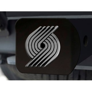 "NBA - Portland Trail Blazers Black Hitch Cover 4 1/2""x3 3/8"""
