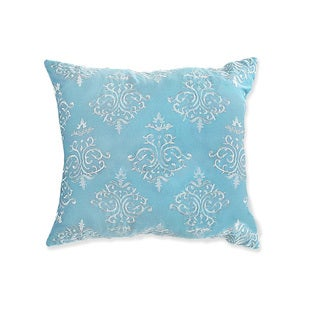 """LUX-BED 1-Piece Peridot 18x18"""" Throw Pillow"""