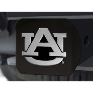 Auburn Black Chrome Hitch Cover