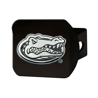 Florida Black Chrome Hitch Cover