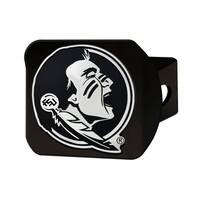 Florida State Black Chrome Hitch Cover