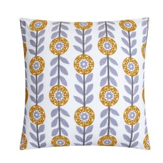 "LUX-BED 1-Piece Bergen Palace 18x18"" Throw Pillow"