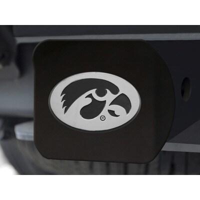 Fanmats Black Iowa Hawkeyes Hitch Cover