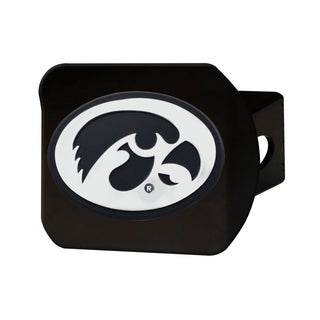 Fanmats Black Iowa Hawkeyes Hitch Cover