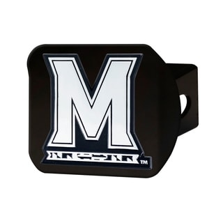 University of Maryland Black Chrome Metal Type III Hitch Cover
