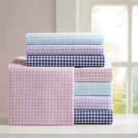 The Gray Barn Pinewood Gingham Cotton Sheet Set