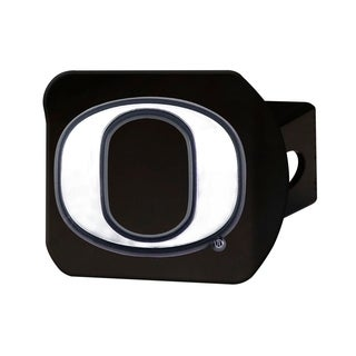 University of Oregon Black Chrome Metal Type III Hitch Cover (Option: Oregon State Beavers)