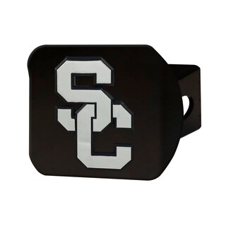 Fanmats Southern California Black Chrome Metal Hitch Cover