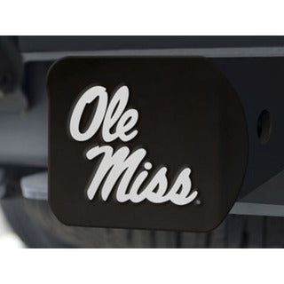 Fanmats Ole Miss Black Hitch Cover