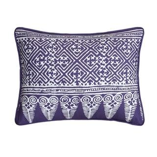 "LUX-BED 1-Piece Bergen Palace 12x18"" Throw Pillow"