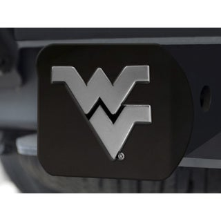 West Virginia Black Chrome Hitch Cover