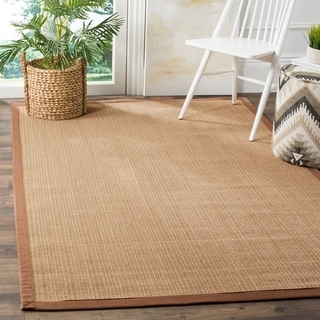 Safavieh Natural Fiber Sisal Multi / Light Brown Area Rug (5' x 8')