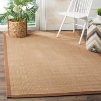 Safavieh Natural Fiber Sisal Multi / Light Brown Area Rug - 5' x 8'