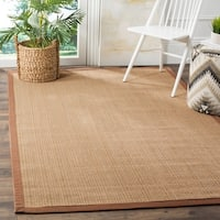 Safavieh Natural Fiber Sisal Multi / Light Brown Area Rug - 6' x 9'