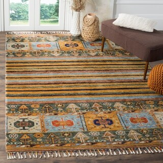 Safavieh Hand-knotted Nomad Selvaggia Southwestern Tribal Wool Rug