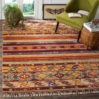 Safavieh Nomad Hand-knotted Wool Multi Area Rug - 6' x 9'