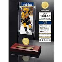 PK Subban Ticket & Bronze Coin Acrylic Desk Top