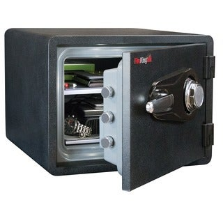 FireKing Business Class Grey Steel 1-Hour Rated Fire-resistant Safe