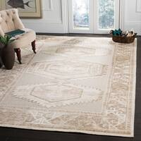 Safavieh Paseo Hand-Knotted Beige Wool Rug - 6' x 9'