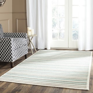Safavieh Hand-Woven Patio Multicolored Wool Rug (5' x 7')