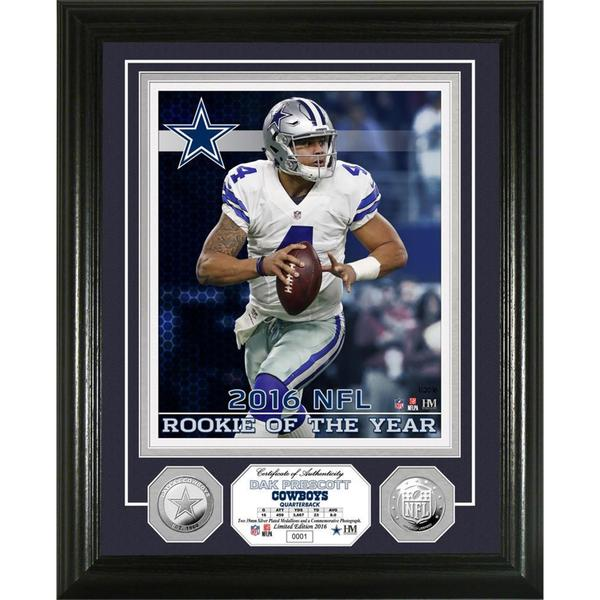 Dak Prescott Silver Coin Photo