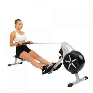 Sunny Health & Fitness SF-RW5633 Air Rowing Machine Rower with LCD Monitor|https://ak1.ostkcdn.com/images/products/14193890/P20790048.jpg?impolicy=medium