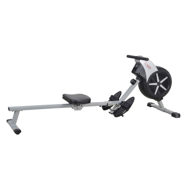 Sunny Health & Fitness SF-RW5633 Air Rowing Machine Rower with LCD Monitor